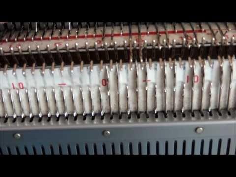 о промышленной резинке и возможных ошибках при ее вязании на двухфонтурной машине - YouTube