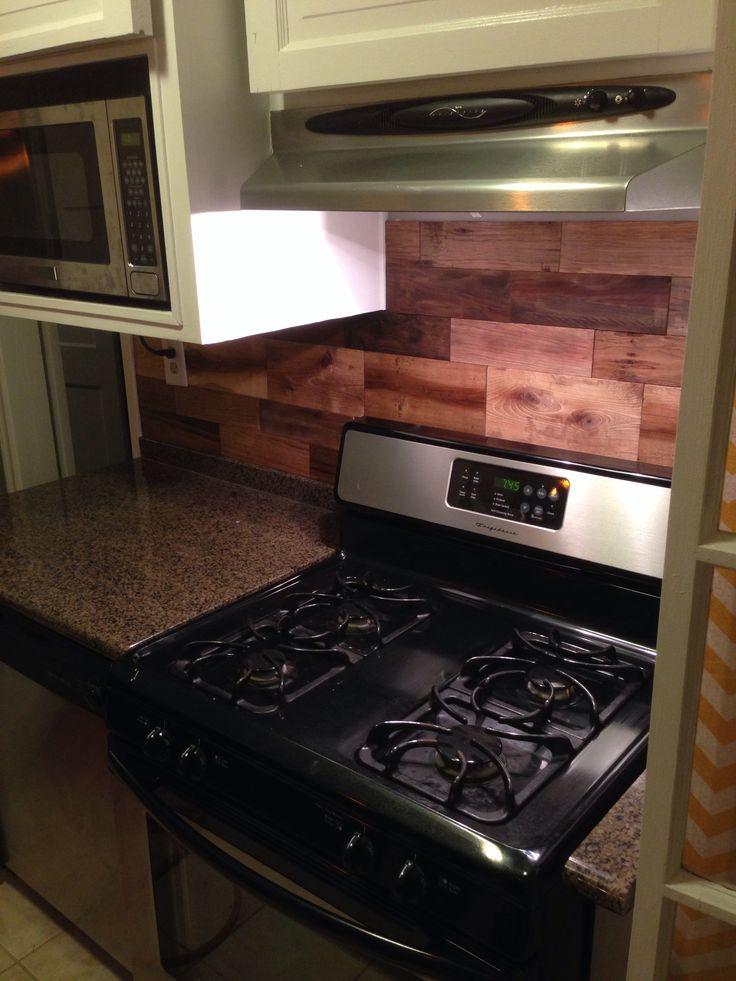 1000 images about pallet back splash on pinterest for Splash board kitchen
