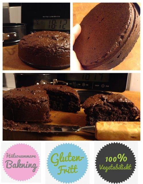 kladdkaka. vegansk, sockerfri och glutenfri! #vegan #sockerfri #glutenfri