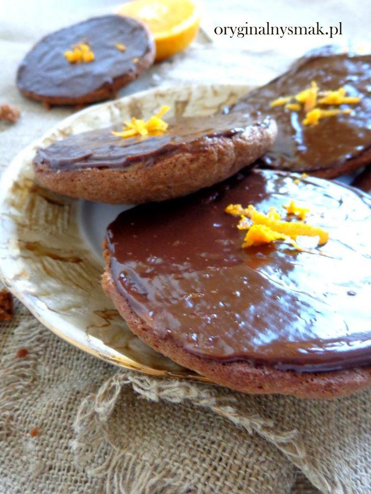 Amerykany czekoladowe z nutą pomarańczy Oryginalny smak