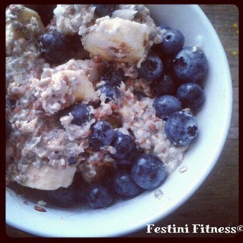 Sunday morning breakfast! #oats #flaxseed #sunflowerseeds #chia #almonds #banana #blueberries #hempseeds #water #instafood #healthyphysique #nutritional #nutrition #nuts #instafit #instafollow #instagood #instacool #instacoach #motivation #personaltraining #peronaltrainer #festinifitness #getlean #eatclean #cleandiet #healthyeating #feelgood #livewell #picoftheday #fitfam #abs #bodybuilding #secretyogi #yogic #yogalicious #lovelife