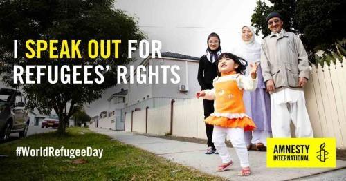 World Refugee Day 2016 | Amnesty International Canada