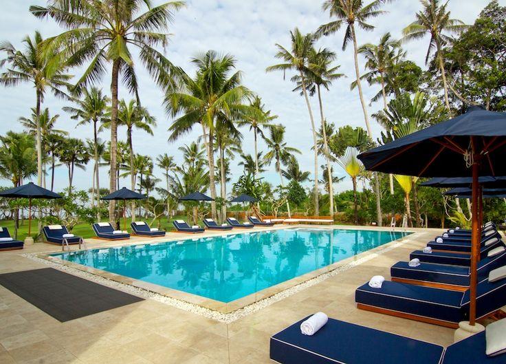 Sounds of nature and a beautiful garden surrounds swimming pool.http://www.thebaliluxuryvillas.com/villa/villa-gajah-putih-bali/