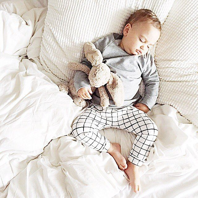 "265 Likes, 42 Comments - OLE design • by Olena (@ole.design) on Instagram: ""Seeing sleeping babies is my favourite 😍 Axel is wearing our most popular monochrome print - GRID…"""