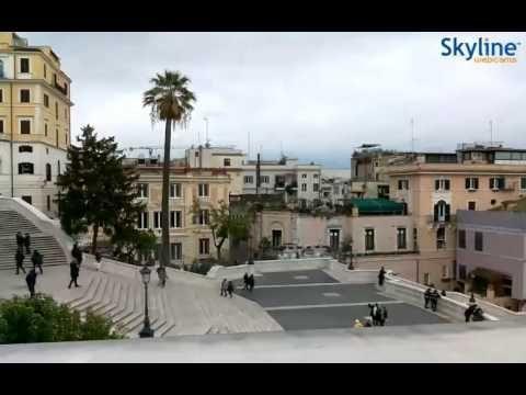 Live Webcam Piazza di Spagna - Time Lapse