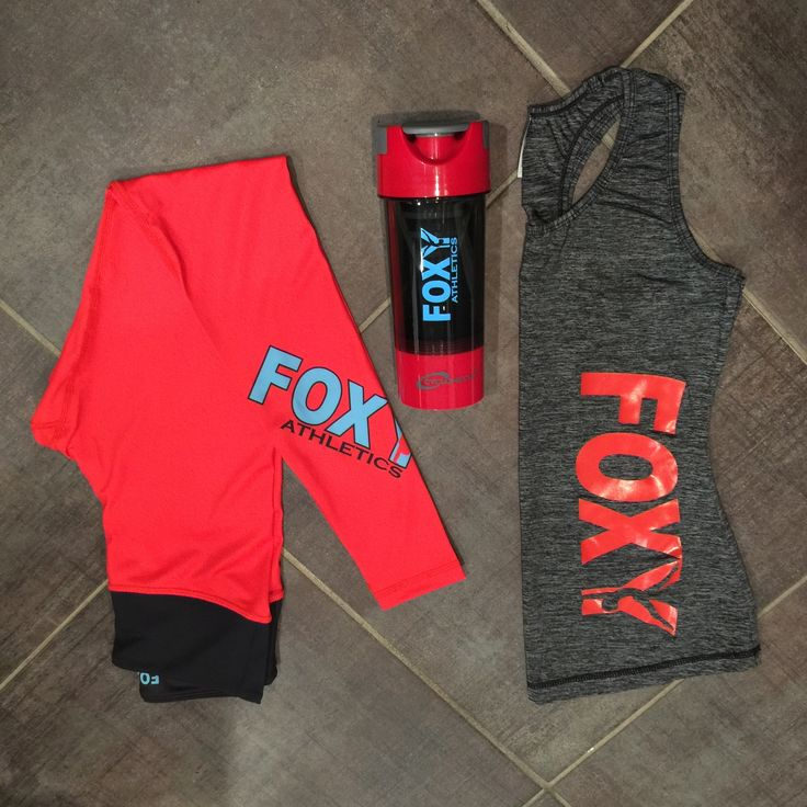 There is just something about matching... Oh... and red leggings! :) #foxyathletics #yogapants
