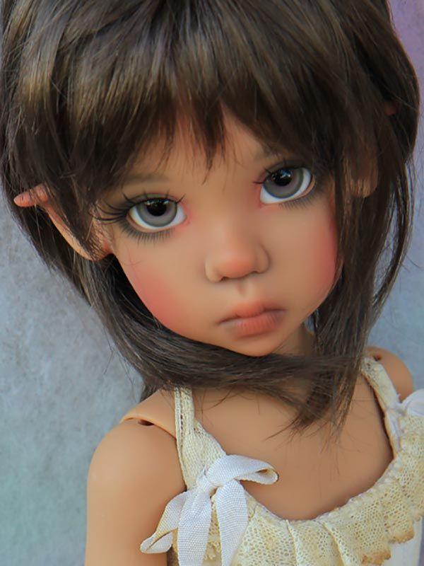 <p> Tan Elf Missy on MSD body by Kaye Wiggs</p>