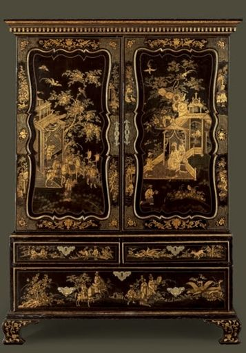 Designed by Giles Grendey (1693-1780) of London.