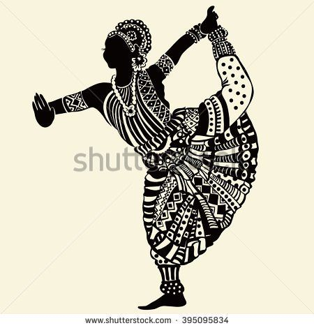 stock-vector-indian-woman-395095834.jpg (450×470)