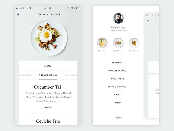 Fresh Cuisine Mock up by Prakhar Neel Sharma - Dribbble
