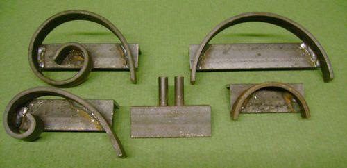 Wrought Iron scroll Jigs