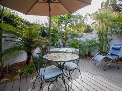 We Put In A New Patio In Oct 2011 Along With New Tropical Garden And