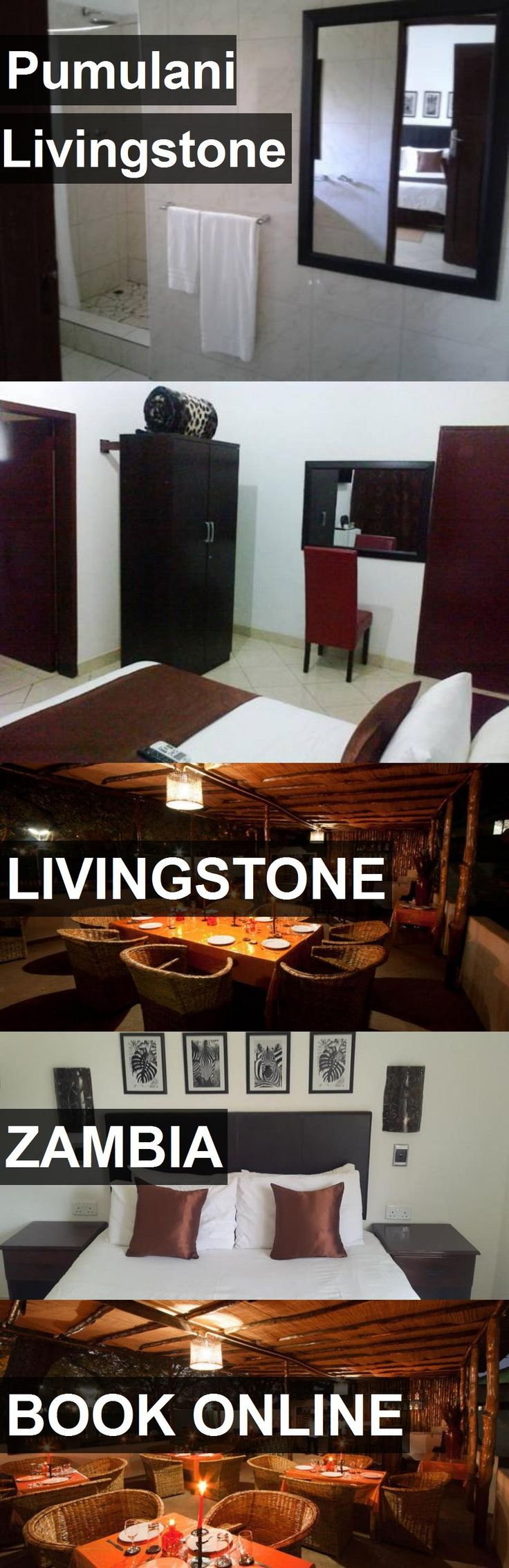 Hotel Pumulani Livingstone in Livingstone, Zambia. For more information, photos, reviews and best prices please follow the link. #Zambia #Livingstone #travel #vacation #hotel