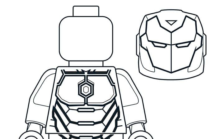 Mighty Micros Iron Man Lego Coloring Pages Lego Coloring Lego Man