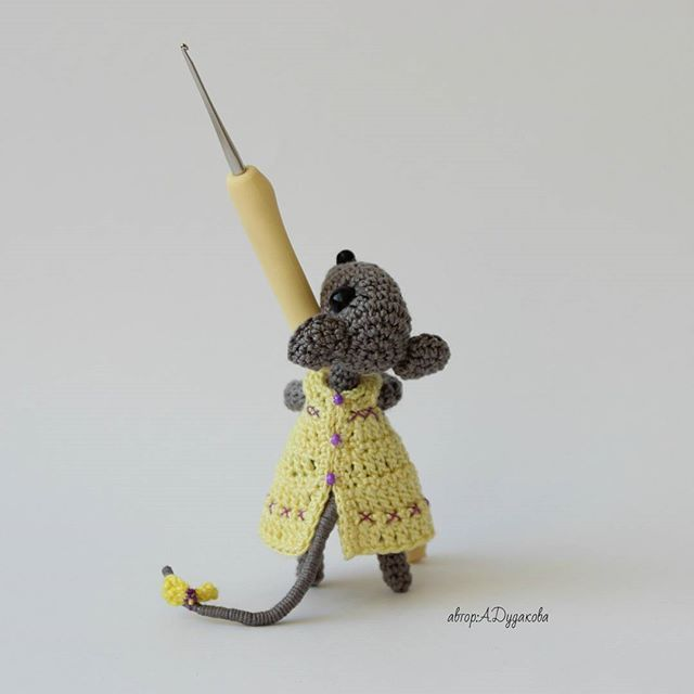 Best Mice Images On   Amigurumi Felt Animals And