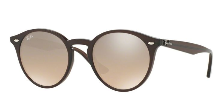 Ray-Ban for man rb2180  - 62313D (OPAL BROWN/brown mirror silver gradient), Designer Sunglasses Caliber 51