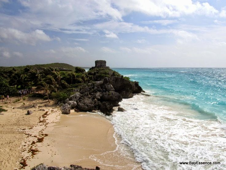 Tulum's beach | Yucatan Peninsula: Exploring Ancient Mayan Sites | www.bayessence.com