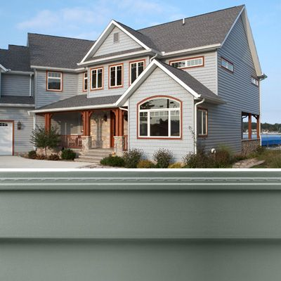 32 best siding colors we love images on pinterest gutter protection mastic vinyl siding and for Mastic home exteriors