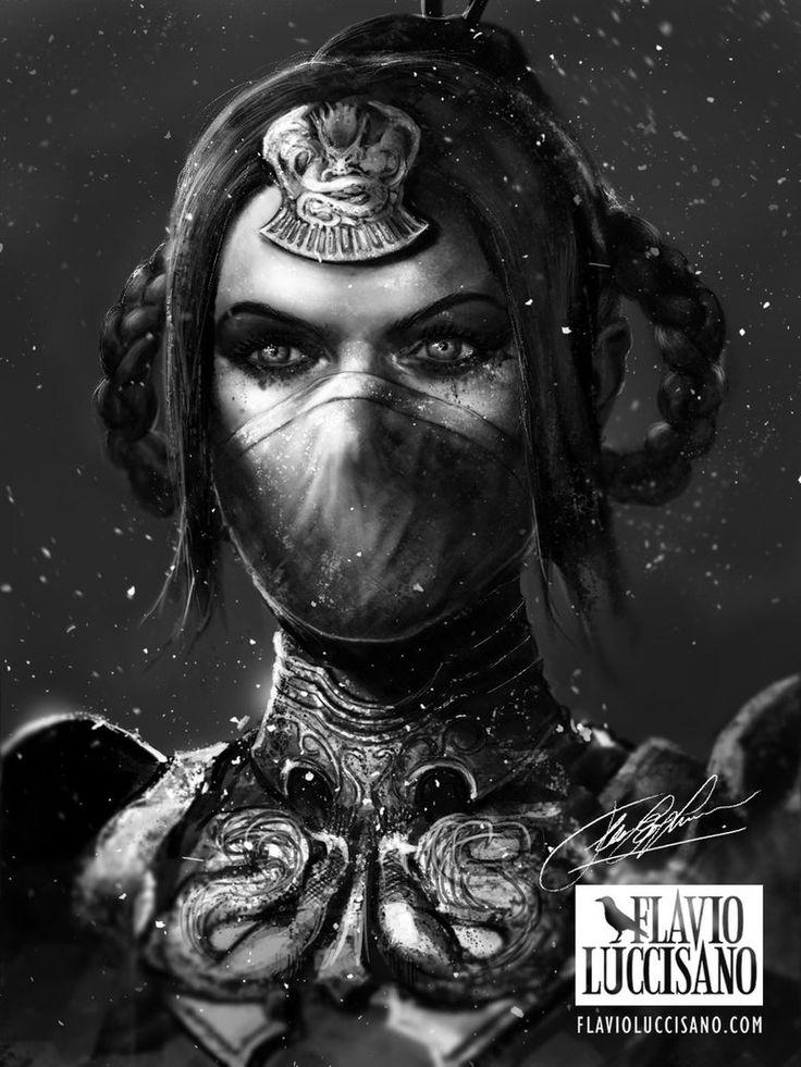 Princess Kitana (Mortal Kombat X) by flavioluccisano