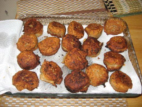 Economique et bon : les croquettes de thon (en boite)
