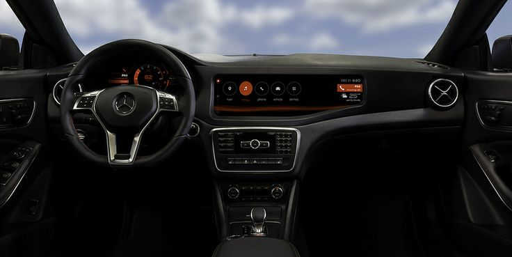 QNX_concept_car_Mercedes_CLA45_home_screen