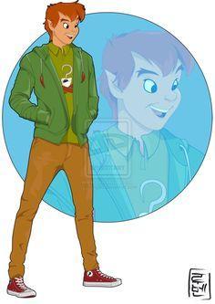 Peter Pan - Ruben Caballero a repris les personnages les plus célèbres pour les transposer dans la peau de jeunes adultes de notre époque.
