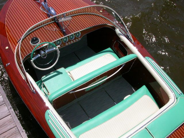 1960 Riva Ariston Hull #307 runabout boat SOLD! by Macatawa Bay Boat Works www.mbbw.com 269-857-4556