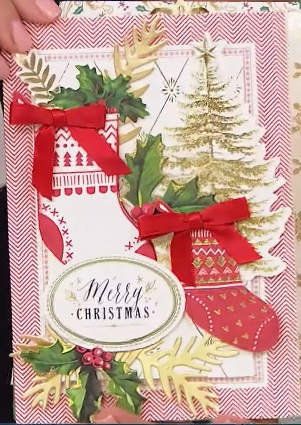 Anna Griffin Vintage Christmas Card Making Kit Anna Griffin Christmas Cards Christmas Cards Christmas Card Making Kits