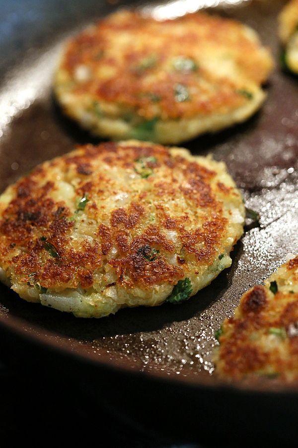 Potato Quinoa Patties with Chickpea curry. Tikki Chole. Vegan Recipe | Vegan Richa