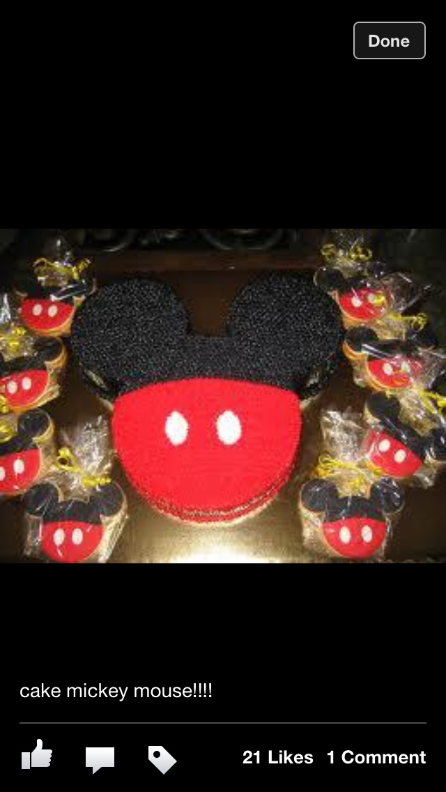 Mickey mouse cake & 49 best Mickey Mouse cake ideas images on Pinterest | Mickey mouse ...
