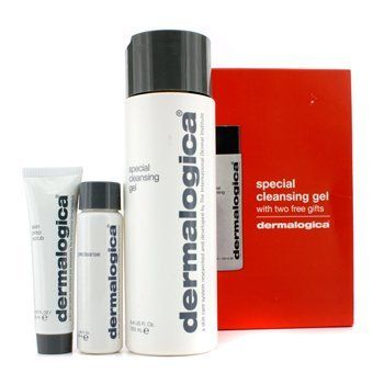 Dermologica Clean and Smooth Limited Edition Skin Cleansing Set by Dermalogica. Save 4 Off!. $32.57. Achieve super clean, super smooth skin. Limited Edition 3 piece Skin Cleansing Set. Skin is left healthy and refreshed. Buy special cleansing gel (8.4 oz) and receive free skin prep scrub (0.75 oz) and precleanse (1 oz). Achieve super clean, super smooth skin. Skin is left healthy and refreshed. Limited edition 3 piece skin cleansing set.