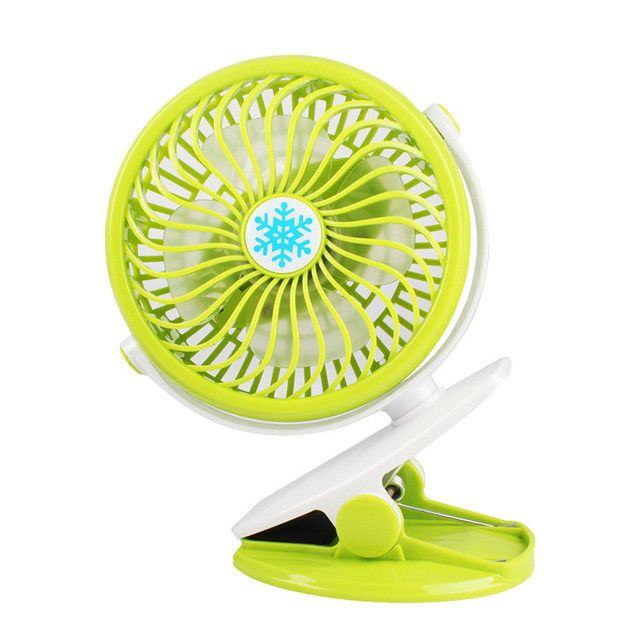 Portable 360 Degree Super Powerful Mini Clip USB Fan Portable Air Cooler Fan Rotatable #233855