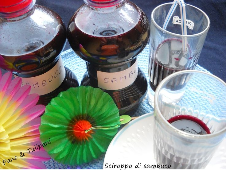 Sciroppo di sambuco Sciroppo ci sambuco con acqua Sant'Anna, dissetante, diuretico e goloso. Anche ottimo espettorante.  http://blog.cookaround.com/vincenzina52/sciroppo-di-sambuco-con-acqua-santanna-2/