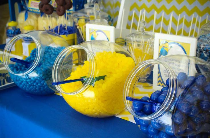 Minions Birthday Party Ideas | Photo 3 of 49 | Catch My Party