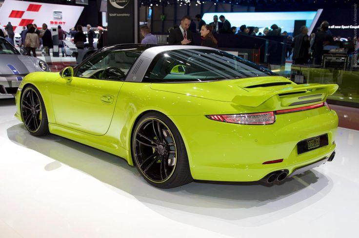 Альбомы›Женева 2015›2015 TechArt Porsche 911 Targa 4S