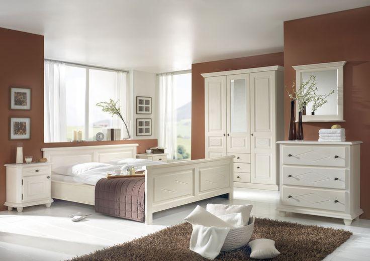 Schlafzimmer Romance, Weiss