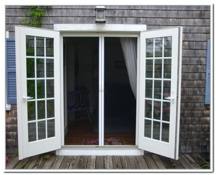 Outswing Door French Doors Exterior Screens Out Swing Exterior
