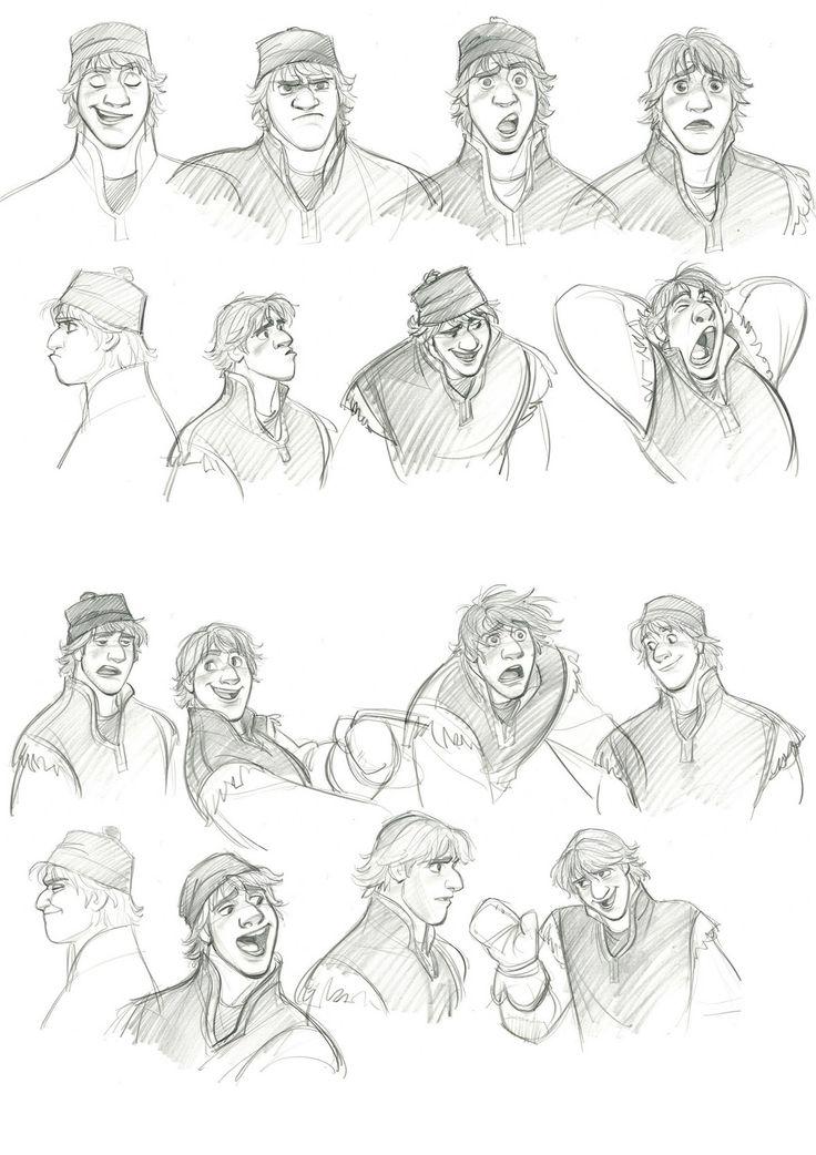 Disney Character Design Sheets : Best images about kristoff fan art on pinterest