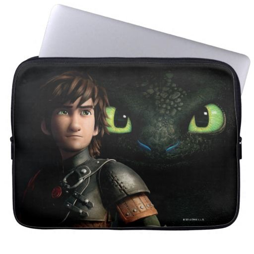 Hiccup & Toothless Laptop Computer Sleeve