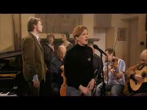 Beautiful Waulking Song (traditionally sung while making tweed cloth).  It took a large group, required a nice rhythm and took some time.  That's why waulking songs have a nice rhythm and are long.