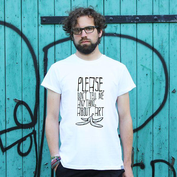 Art Banana T-Shirt from Kindergeld Düsseldorf now on lokalshirt.com
