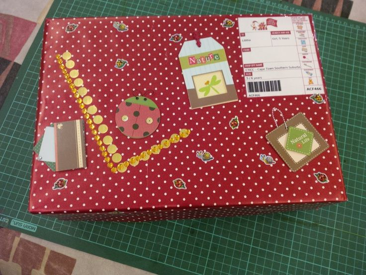 Box for a girl 2014