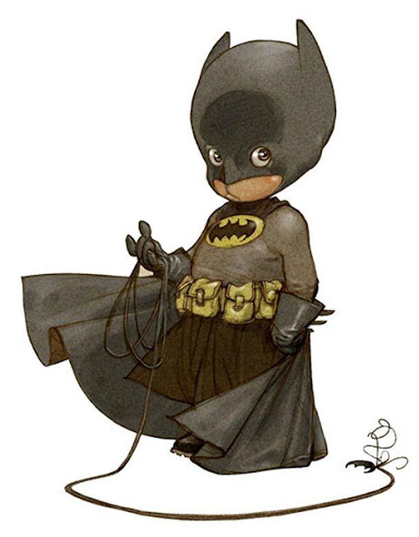 """""""Little Heroes"""", une série d'illustrations de bébés super-héros imaginés par le talentueux dessinateur français Alberto Varanda ! Dans la li..."""