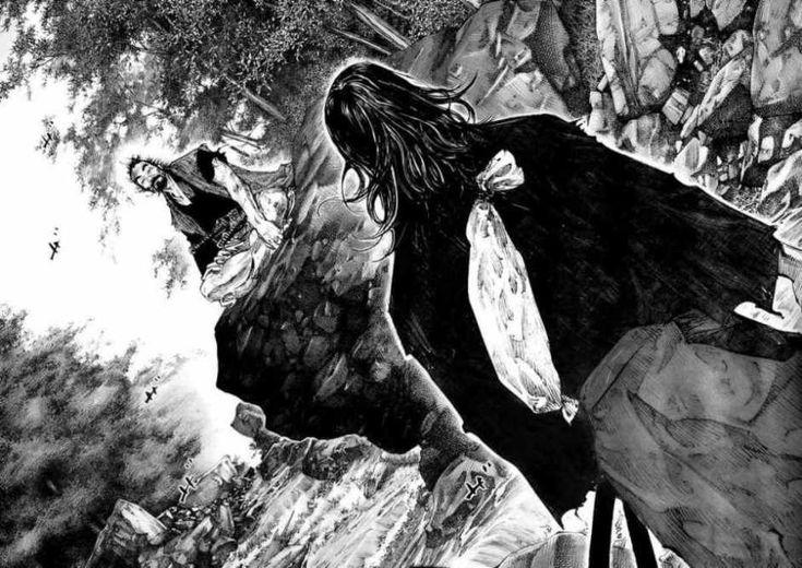 Reseña del manga de Takehiko Inoue (Slam Dunk) que relata la historia del gran guerrero japonés Musashi Miyamoto