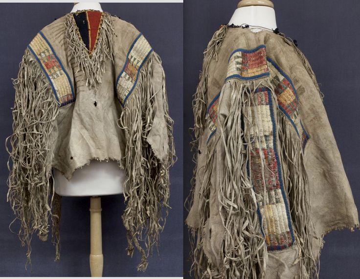 Sioux Shirt Bryn Mawr College Native American Clothing Native American Shirts Native American History