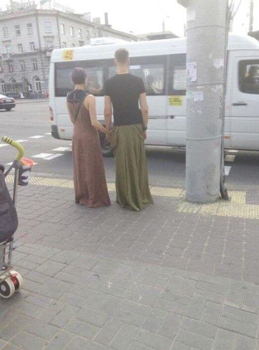 Суровая белорусская мода. Во дают!