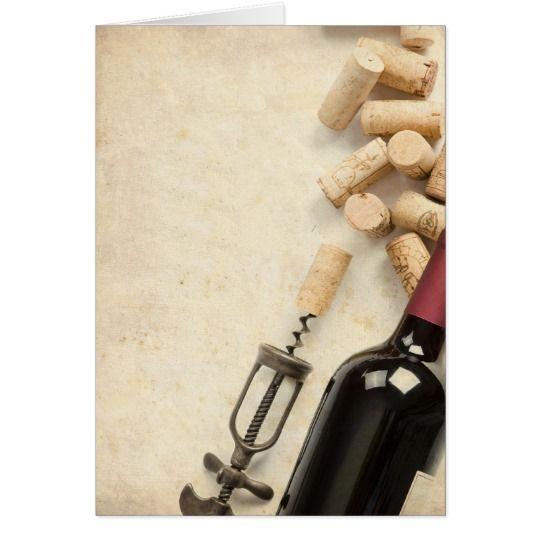 Cartes Bouteille de vin