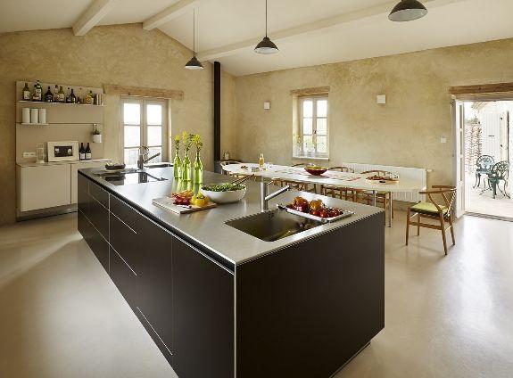 bulthaup by kitchen architecture case study silk farm. Black Bedroom Furniture Sets. Home Design Ideas