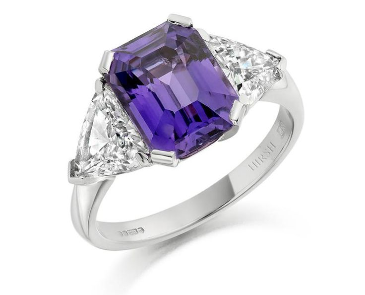 The new colour code: engagement rings featuring vibrant gemstones