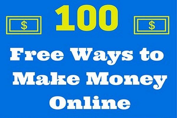 ways to make money online fast and free 100 free ways to make quick money online quick money a 1615